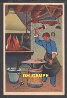 DD / ILLUSTRATEURS / RÉMY HÉTREAU / LE MARÉCHAL FERRANT (1943) / CARTE VENDUE AU PROFIT DU SECOURS NATIONAL - Illustrators & Photographers