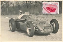D34067 CARTE MAXIMUM CARD 1955 SAN MARINO - RACING CAR CP VINTAGE ORIGINAL - Cars