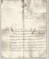 "SOULIGNAC EN GIRONDE : "" HISTOIRE DE VOISINAGE "" AU XVIII ° SIECLE - Manuscrits"