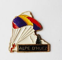 Pin's Parapente Alpe D'Huez - 18A - Badges