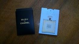 Carte Parfumée Puffer Chanel  Gabrielle Eau De Parfum Et Bleu De Chanel Touch - Modern (from 1961)