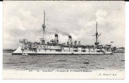 """Cpa """" Le Jean- Bart """" , Croiseur De 1ère Classe à Batterie . ( Précurseur ). - Guerra"""