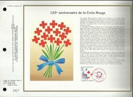 CEF N° : 929 . 125éme ANNIVERSAIRE DE LA CROIX - ROUGE . 19 NOVEMBRE 1988 . LE BOURGET . - FDC