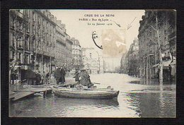 75 Paris / Crue De La Seine 1910 / Rue De Lyon - Inondations De 1910