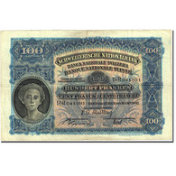 Billet, Suisse, 100 Franken, 1921-1928, 1947-10-16, KM:35u, TB - Suisse