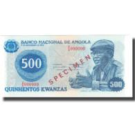 Billet, Angola, 500 Kwanzas, 1975, 1975-11-11, Specimen, KM:112s, NEUF - Angola