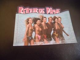 HOMME BIEN ENTOURE ...RETOUR DE PECHE - Humour