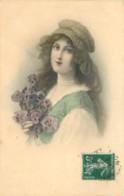 PORTRAIT DE  FEMME  -  LADY - FRAU -    M.M. VIENNE 322 - Vienne