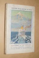 RARE,Compagnie Belge Maritime Du Congo,complet Avec Ancienne Cartes,21,5 Cm. Sur 14 Cm.collection - Bateaux