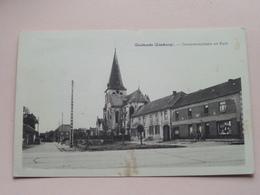 Gemeenteplaats En Kerk ( Huis Hubrechts-Vermeulen ) Anno 1963 ( Zie Foto > Veeg/plek ) ! - Meeuwen-Gruitrode