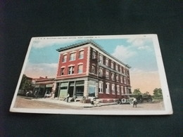 PICCOLO FORMATO  U.S.A. NEW YORK I.O.R.M. BUILDING AND POST OFFICE PORT CHESTER UFFICIO POSTALE - Poste & Postini