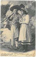 CPA Roman Champêtre - Ed. A. Breger N°10 - Année 1904 - Couples
