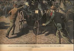 Anarchie Anarchiste Bressi Italie Monza Humbert 1 Revue Le Pélerin N° 1232 De 1900 - Other