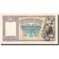 Billet, Albania, 100 Franga, Undated (1945), KM:14, TTB - Albanie