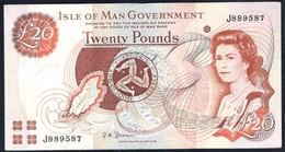 Isle Of Man - 20 Pounds 2002 - P45b - [ 4] Isle Of Man / Channel Island