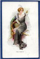 CPA PAON Femme En Pied Girl Women Glamour Beauté Circulé Art Nouveau - Illustrators & Photographers