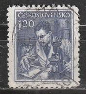 Cecoslovacchia 1954 Scientist - Professioni | Scienziati - Cecoslovacchia