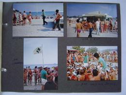 PHOTOS PUBLICITE : ANIMATION SEITA - CIGARETTES ROYALE / PLAGE DES SABLETTES / LA SEYNE / VAR / AUTO FACEL VEGA 1972 - Soccer