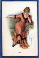 CPA Femme En Pied Girl Women Glamour Beauté Non Circulé - Illustrators & Photographers