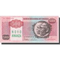 Billet, Angola, 500 Novo Kwanza On 500 Kwanzas, 1987, 1987-11-11, KM:123, NEUF - Angola