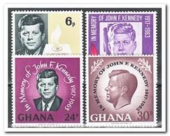 Ghana 1965, Postfris MNH, Death Of John F. Kennedy - Ghana (1957-...)