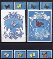 1989 - GRENADINES OF GRENADA -  Mi. Nr. 1201/1208 + BL 160/161 - NH - (UP.207.30) - Grenada (1974-...)
