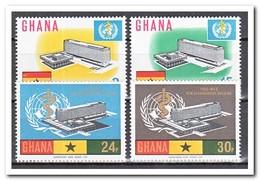 Ghana 1966, Postfris MNH, Inauguration Of The New Headquarters Of The World Health Organization, WHO - Ghana (1957-...)
