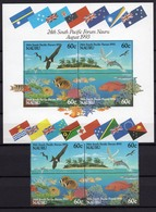 1993 - NAURU -  Mi. Nr. 394/397 + BL 9 - NH - (UP121.8) - Nauru