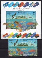 1993 - NAURU -  Mi. Nr. 394/397 + BL 9 - NH - (UP.207.31) - Nauru