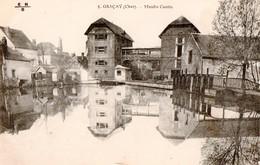 2 Cartes - Graçay - Moulin Cantin + Hôtel De Ville - Graçay