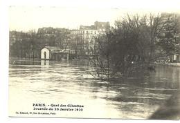 PARIS  4e - Quai Des Célestins - Inondations 1910 - DEBROCK éditeur - Distretto: 04