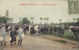 FRGES-les-EAUX - Le Marché Aux Vaches - Ed. Larigauderie - Forges Les Eaux