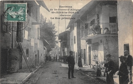 ¤¤  -  SAINT-JEAN-la-PORTE   -  La Rue Principale  -  Environs De Saint-Pierre-D'Albigny   -  ¤¤ - Altri Comuni