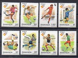 RWANDA  Timbres Neufs ** De 1982  ( Ref 5551 A ) Sport  Football - Rwanda