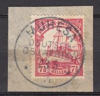DUITSE KOLONIEN - OOST-AFRIKA  1905  Michel   32  MUHESA    , See  Scan ,used/VF   [DK  419  ] - Colonie: Afrique Orientale