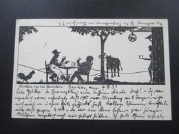 AK / Künstlerkarte 1931 Einkehr Vor Der Heimkehr. Gastwirtschaft Mit Tieren. Bautzen - Illustrators & Photographers