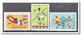 Ghana 1965, Postfris MNH, Football ( With Overprint ) - Ghana (1957-...)