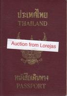 Thailand Passport, Reisepass, Passeport, Passaporte, Paspoort, Reispas Thailand 2002 - Historical Documents