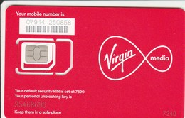 United Kingdom - Virgin (standard, Micro, Nano SIM) - GSM SIM  - Mint - United Kingdom