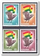 Ghana 1967, Postfris MNH, 1st Anniversary Of The February Revolution, Birds - Ghana (1957-...)