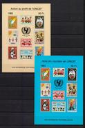 E 134/135 UNICEF 1983  BLOK  POSTFRIS** - Commemorative Labels