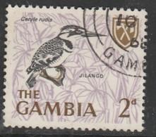 Gambia 1966 Birds  2 P Multicoloured SW 220 O Used - Gambia (1965-...)