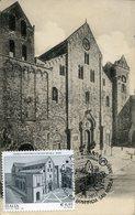 37012 Italia, Maximum 2017 The Cathedral Of Bari St. Nicolas Basilica San Nicola, Architecture Vintage Card - Kerken En Kathedralen