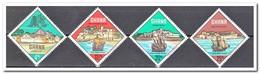 Ghana 1967, Postfris MNH, Historic Fortresses And Ships - Ghana (1957-...)
