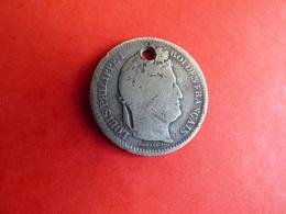 Rare 2 FRANCS 1834  I TRES PEU - I. 2 Francs