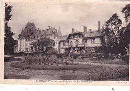 89-BLENEAU- CHATEAU DE LA MOTHE-JARRY - Bleneau