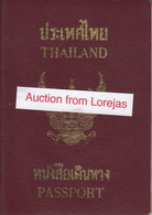 Thailand Passport, Reisepass, Passeport, Passaporte, Paspoort, Reispas Thailand 1999 - Historical Documents
