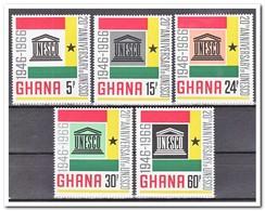 Ghana 1966, Postfris MNH, 20 Years UNESCO - Ghana (1957-...)