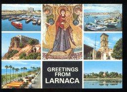 CPM Neuve Chypre Greetings From LARNACA - Chypre