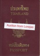 Thailand Passport, Reisepass, Passeport, Passaporte, Paspoort, Reispas Thailand 2000 - Historical Documents